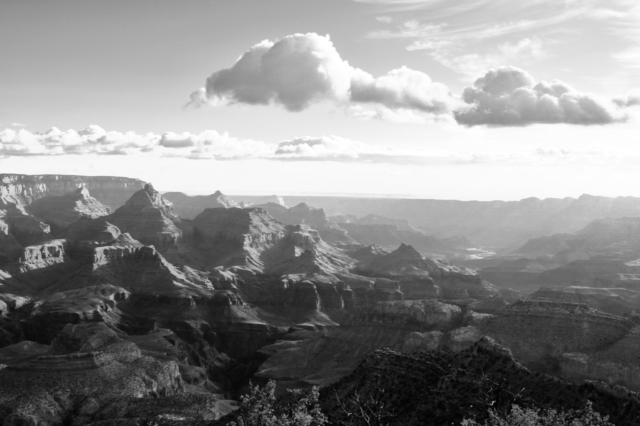 Morning Sun Rising, Grand Canyon
