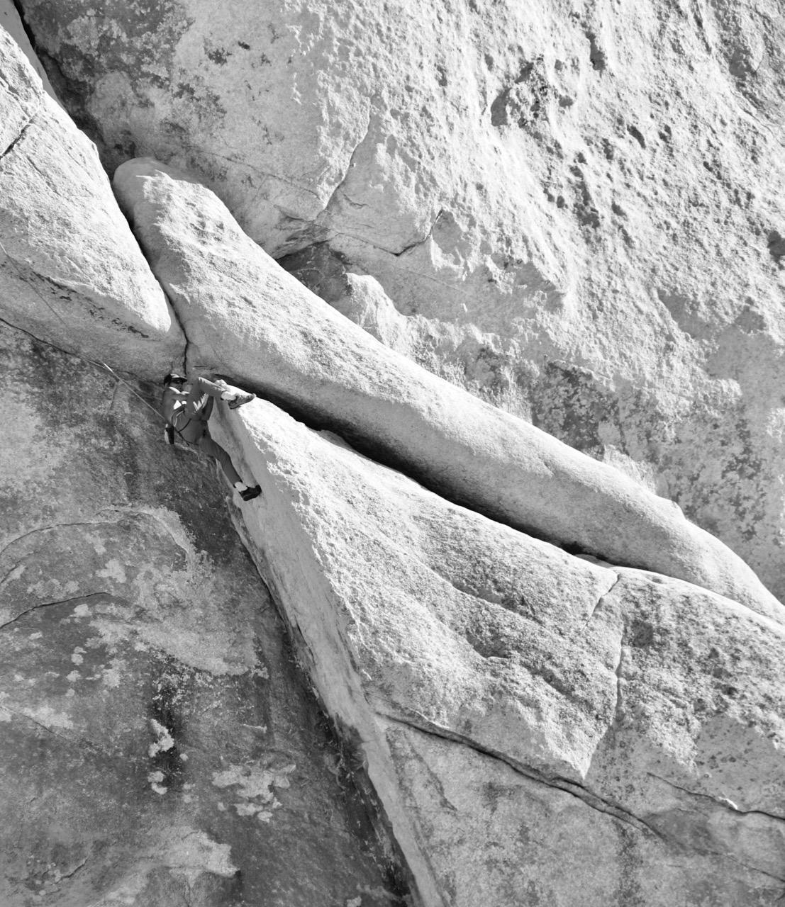 Morning Climb, Cap Rock - Joshua Tree National Park