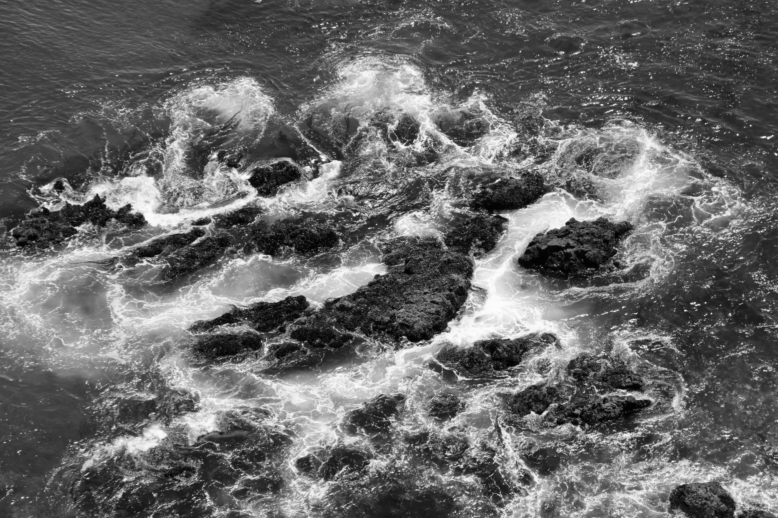 Sea Spray - Anacapa Island, Channel Islands