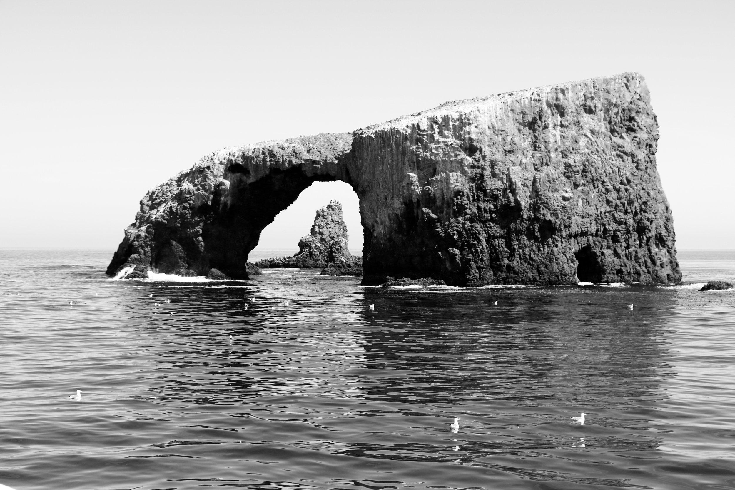 Arch Rock - Ana capa Island, Channel Islands