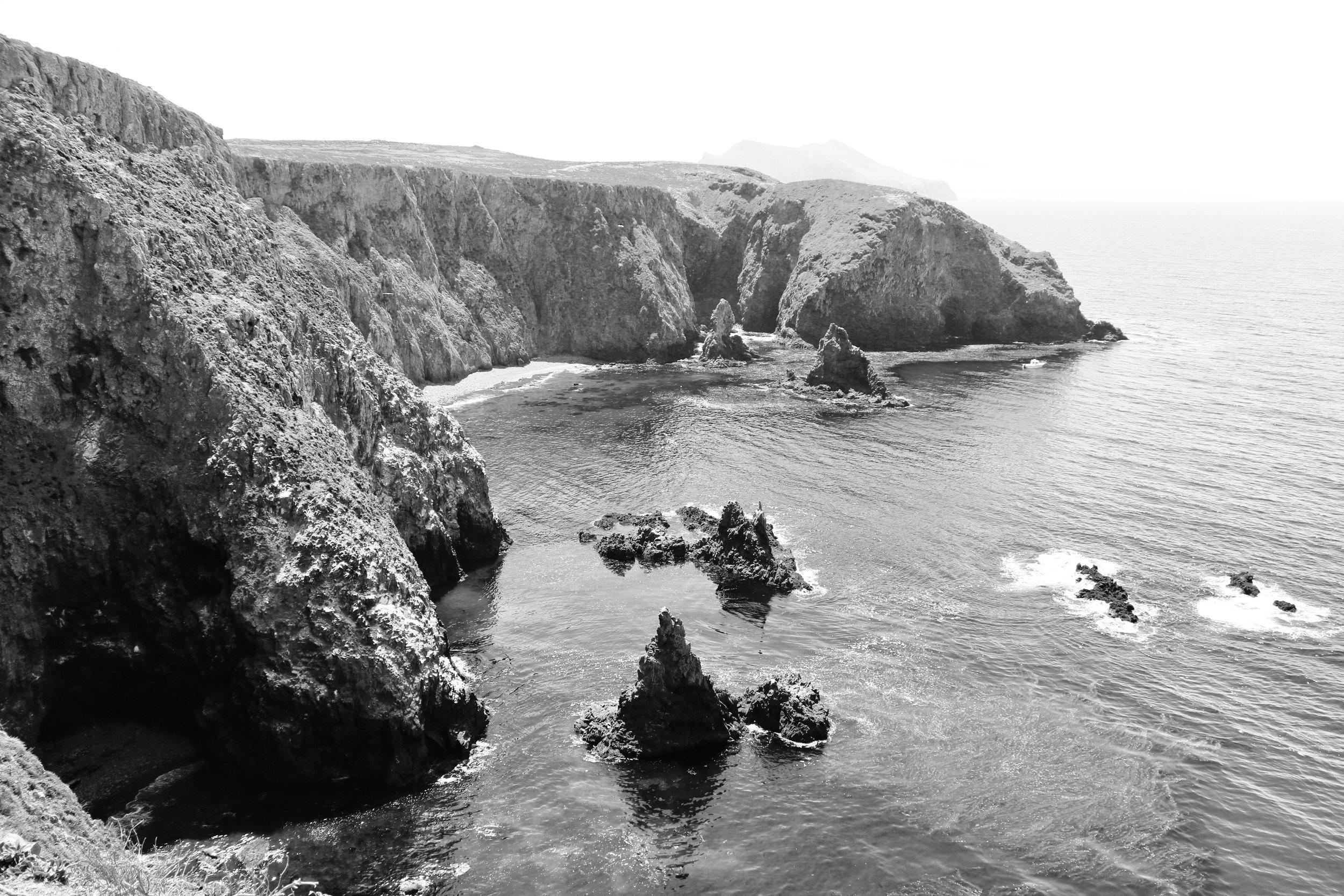 The Cove - anancapa Island, Channel Islands