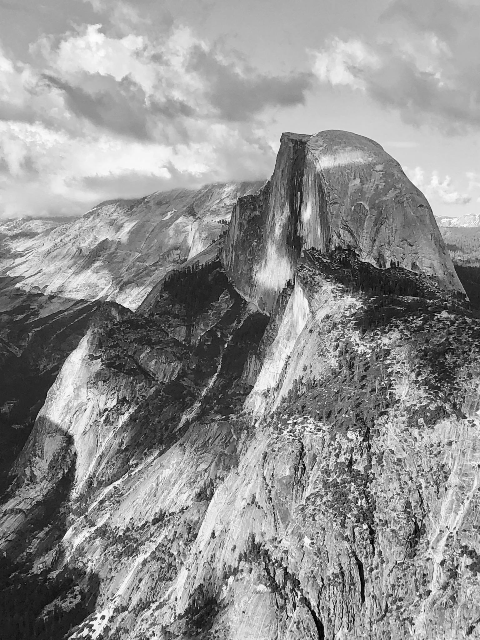 Half Dome from Glacier Point -Yosemite