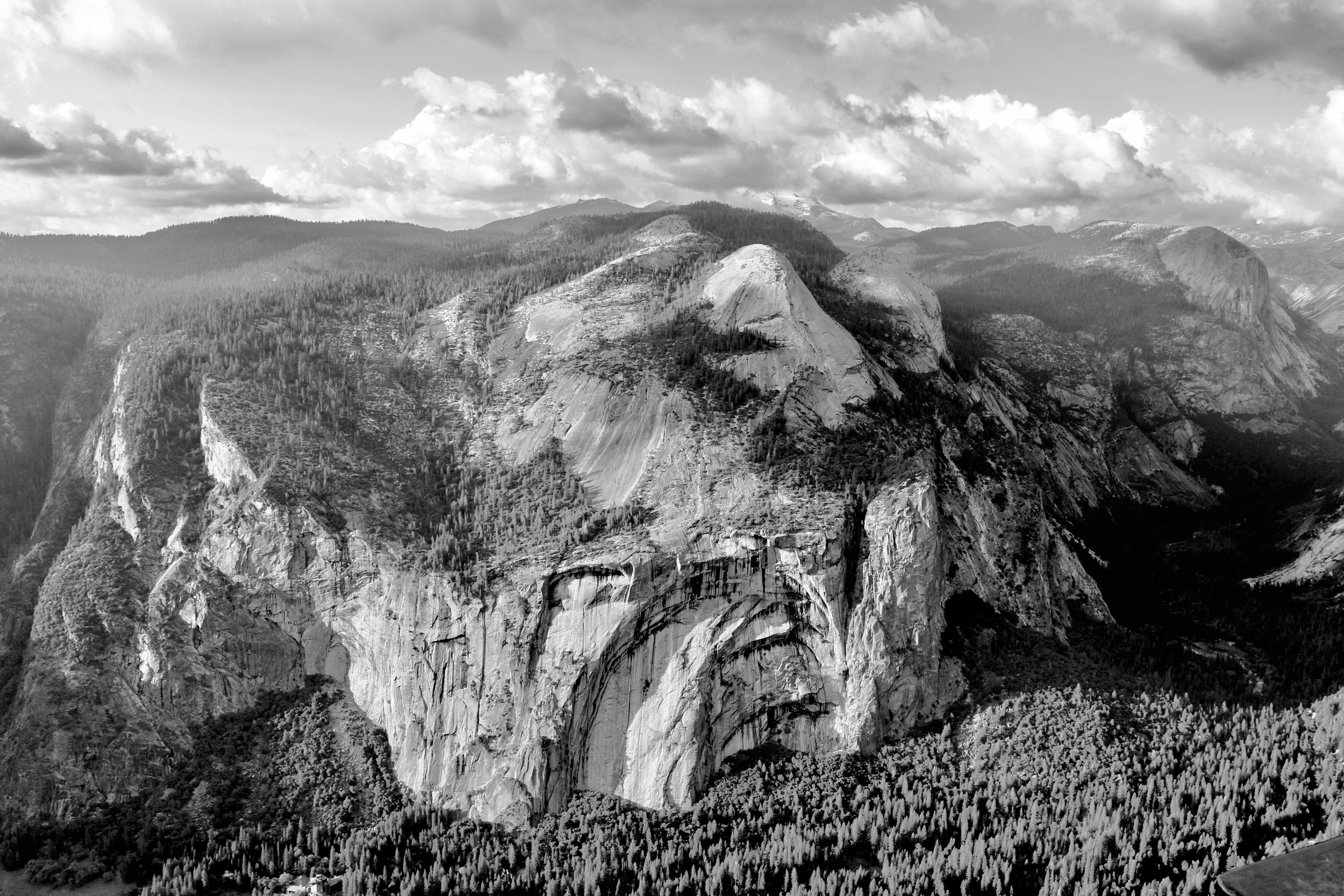 Royal Arches from Above - Yosemite