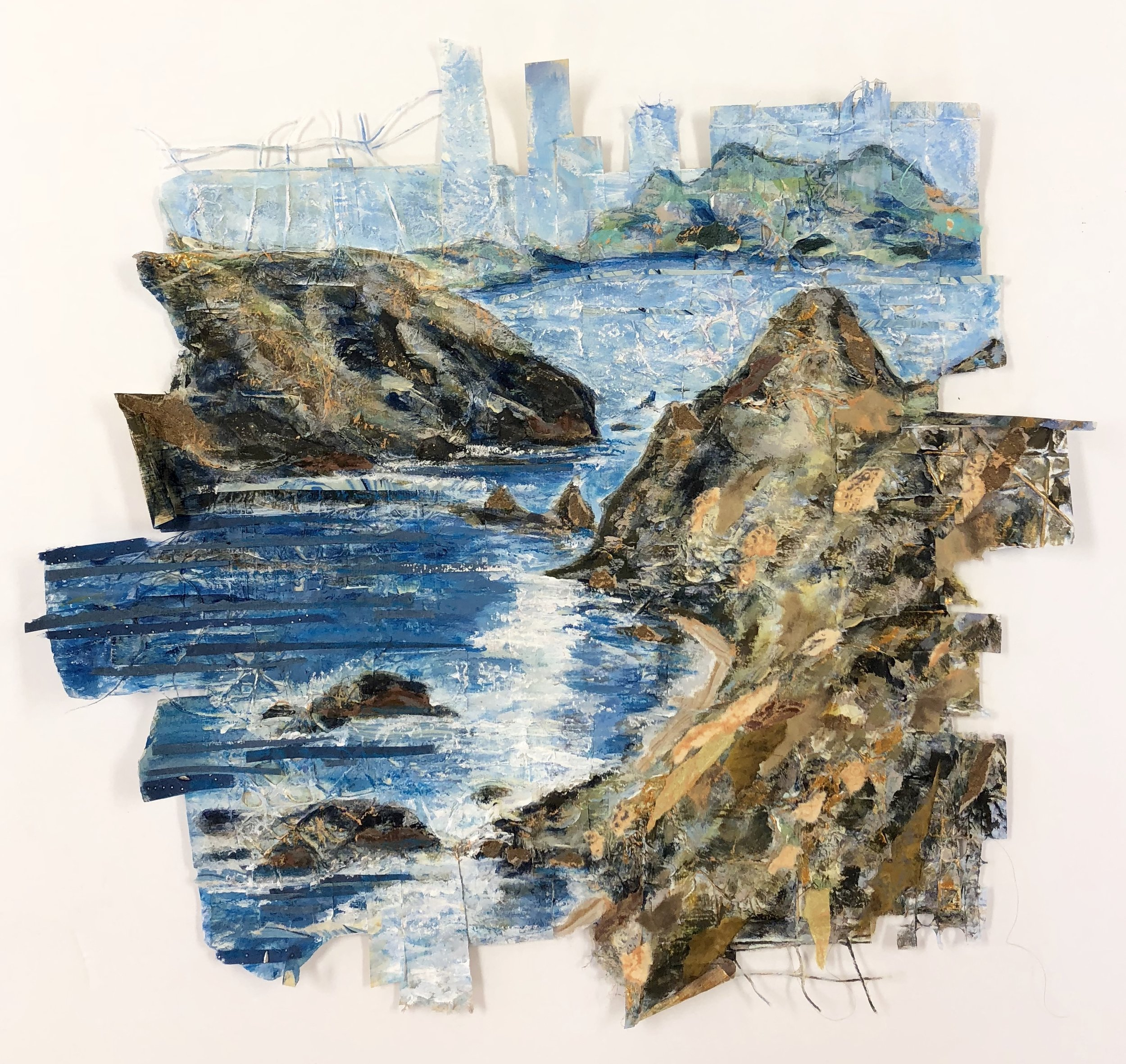 Inspiration Point - Anacapa Island, Channel Islands National Park - mixed media