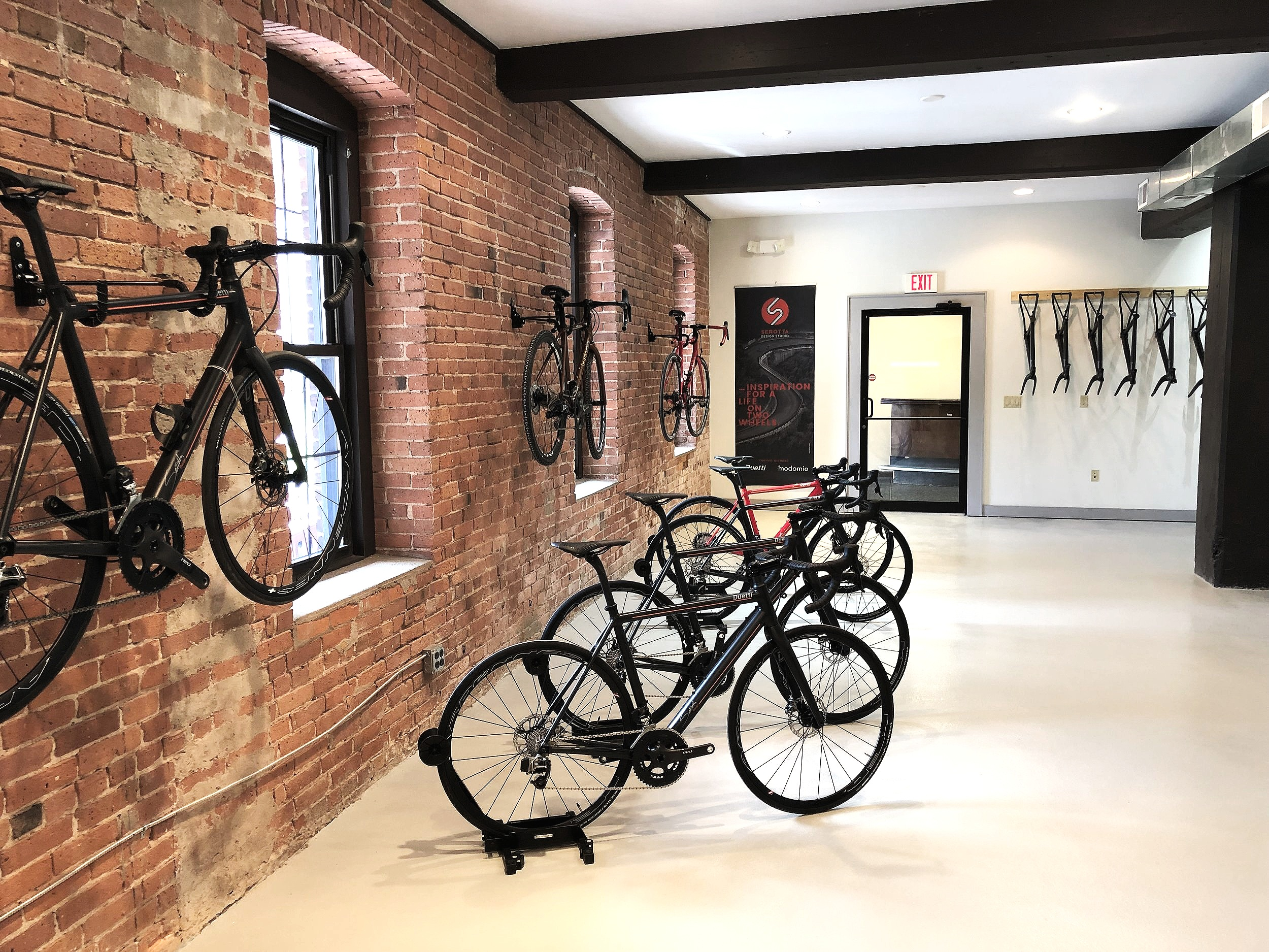 Welcome to the Serotta Cycle Design Studio Location. We are proud to announce our primary home base where design, assembly and bike fittings take place.