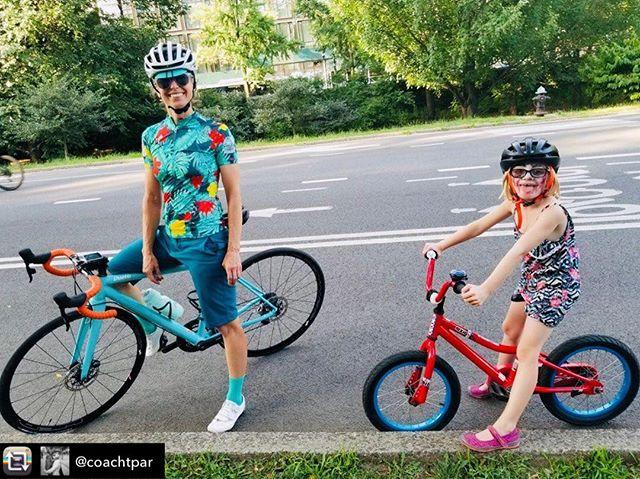 Kids n bikes make us all smile.