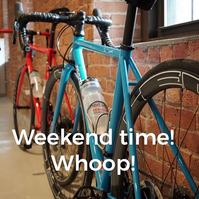 It's the weekend. We're going riding. You should get some also. Serotta #hashtag file  #serottasquad  #serottabikes  #custombikes  #lovecycling #cyclingpassion #lifebehindbars #cyclingaddict #bicycles #custombikes #cycling #instacycling #roadcycling #benserotta  #bikelife #serottacycles  #serottabikes #custombicycles #allaboutthefit #benserotta