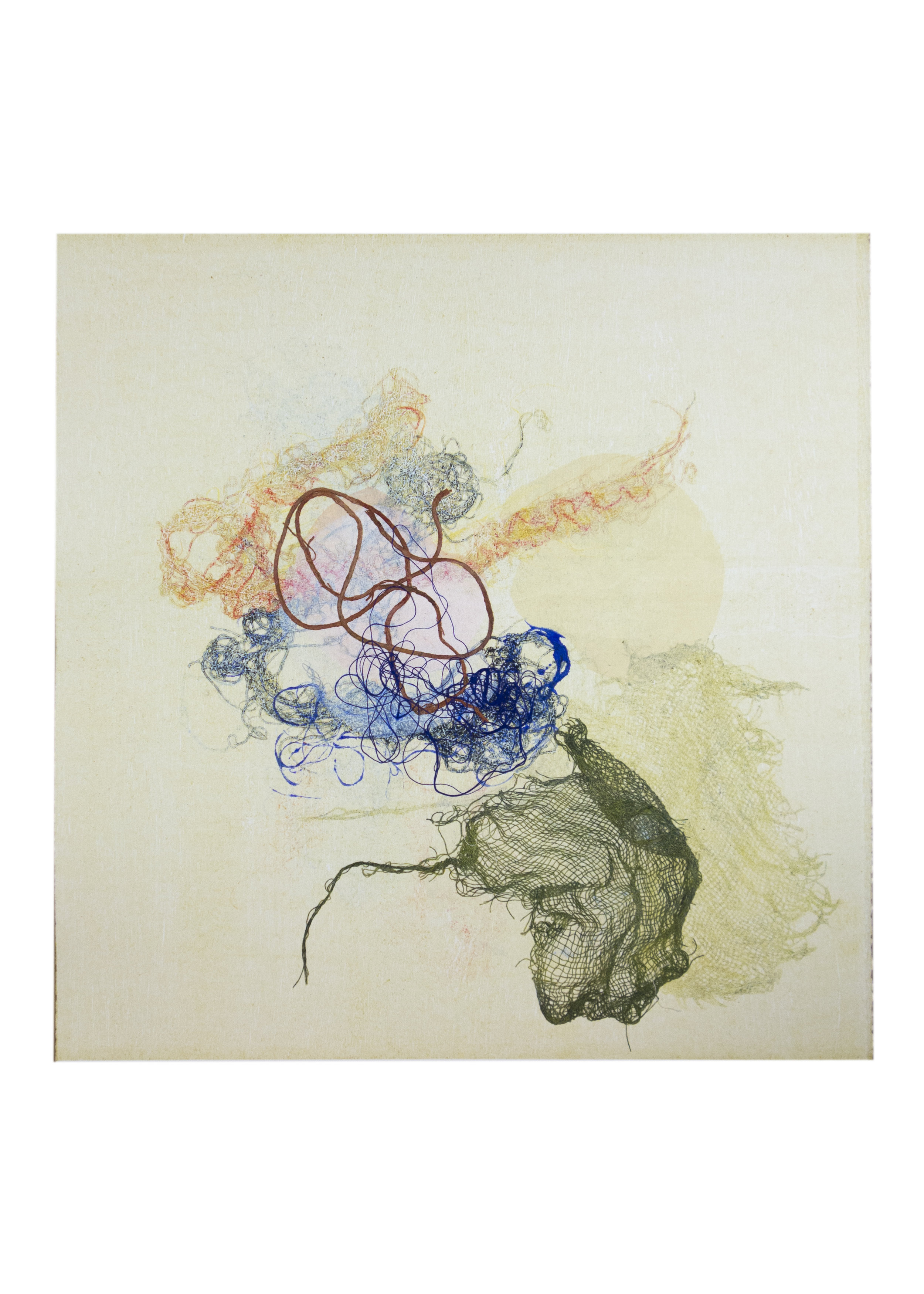 "Elara, monoprint, image: 16"" x 15"""