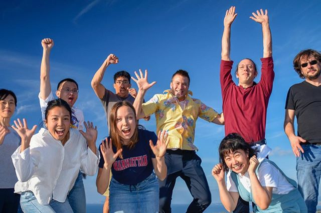Photos from our recent Okinawa lab shoot courtesy of @scottinawa @oistedu @oistgradschool Come and join our lab!!