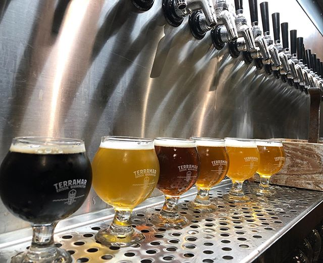 The brewery is up to full speed.  The Slaughterhouse Five flight actually has tasty choices to be made. Latest to join the lineup is ABC IPA.  Fantastic tropical, melon & pink grapefruit flavors pulled from the namesake Azacca, Bravo & Chinook hops. @terramarbrewstillery #craftbeer #washingtoncraftbeer #edisonwa #98232