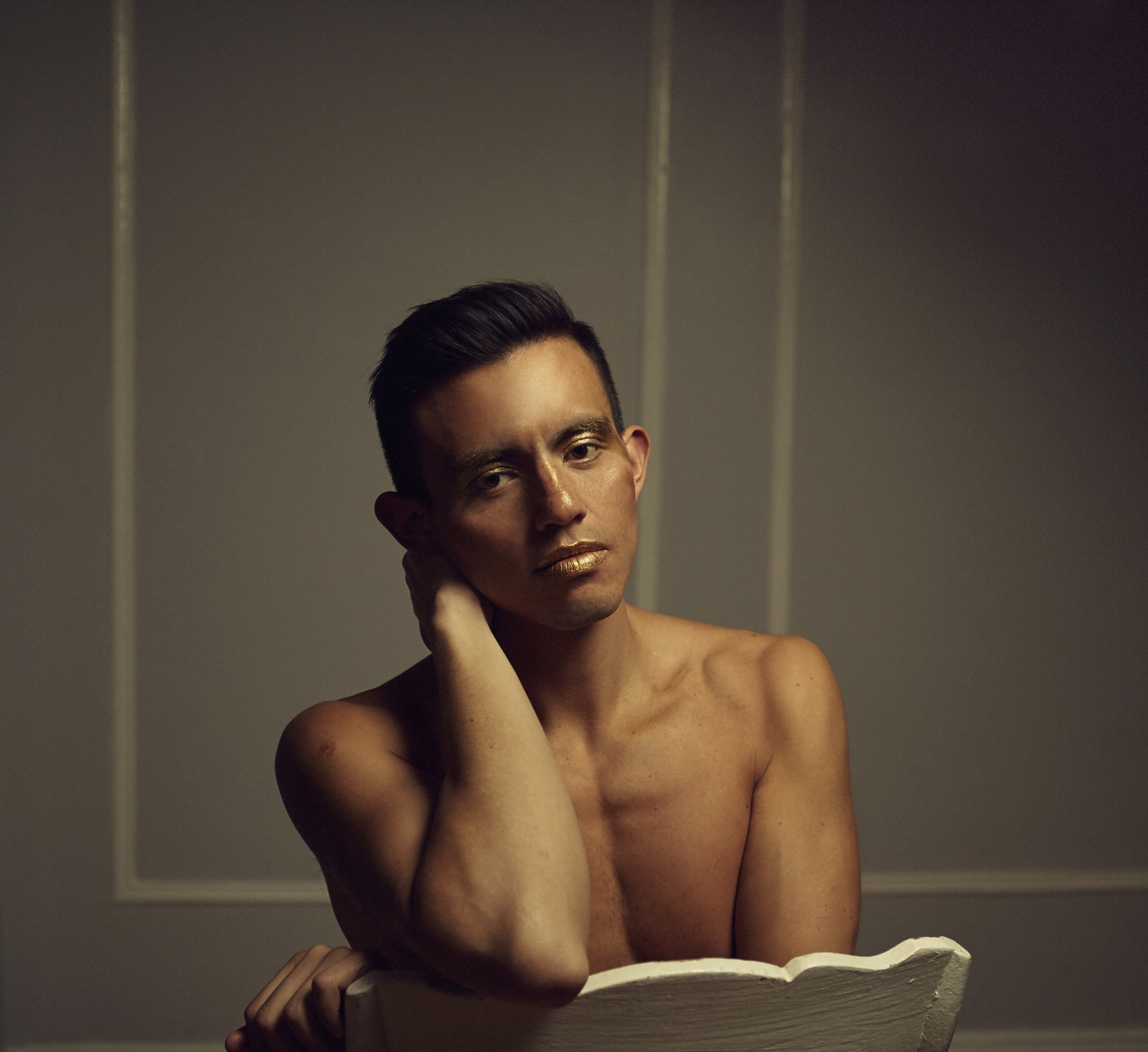 """""""I see my life as a living challenge to societal norms and prejudices, whether I am challenging the way judges see my clients in immigration court, or whether I am walking down the street with makeup on my face, my main goal is to have people see my humanity and my clients' humanity."""" - — luis mancheno, interview with hiskind magazine, april 4, 2017"""