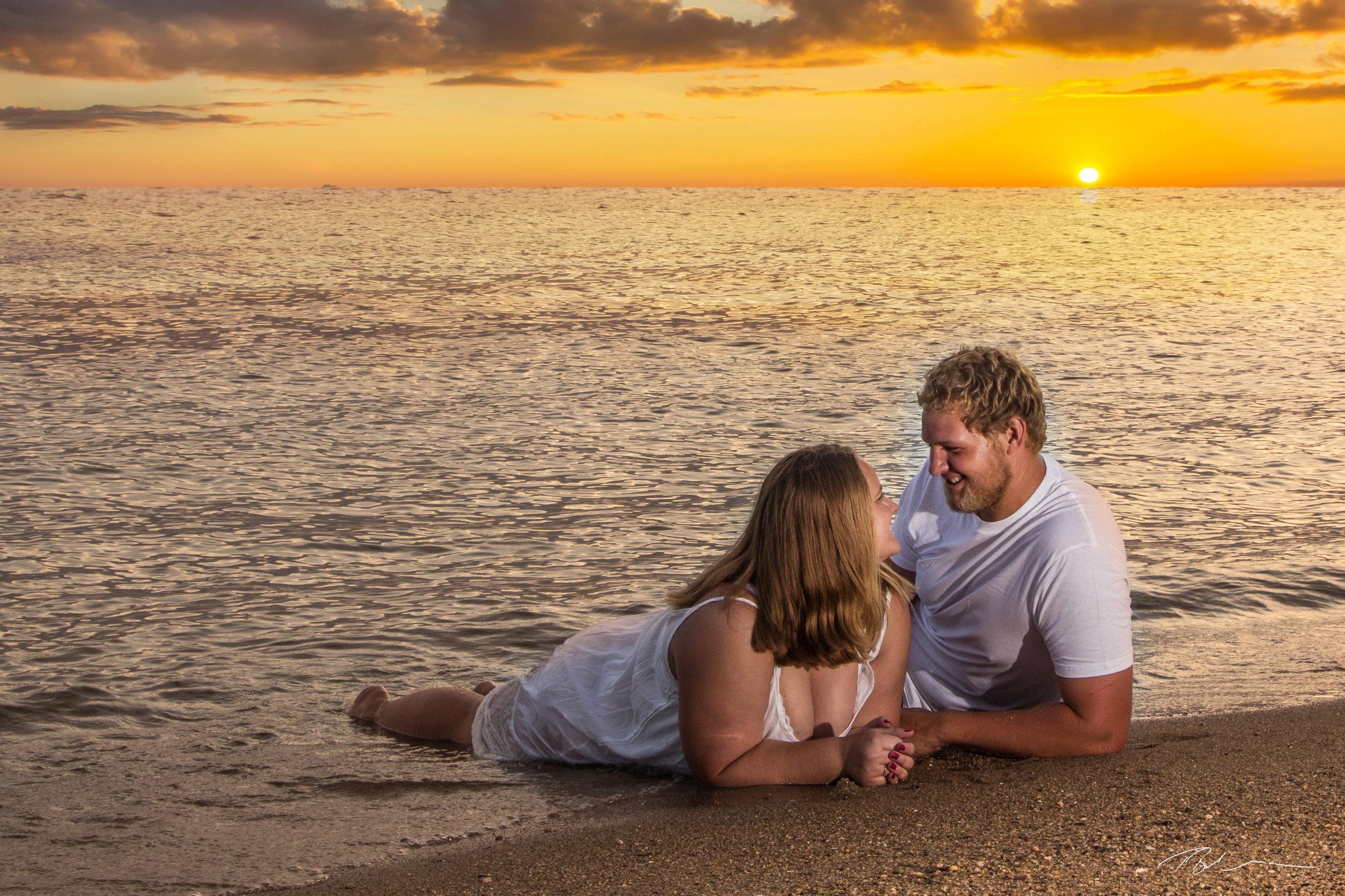 Caleb and Kera engagement photo