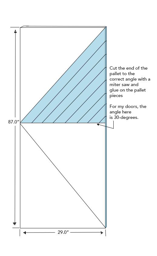 Image 2: Diagonal Pallets (Top)