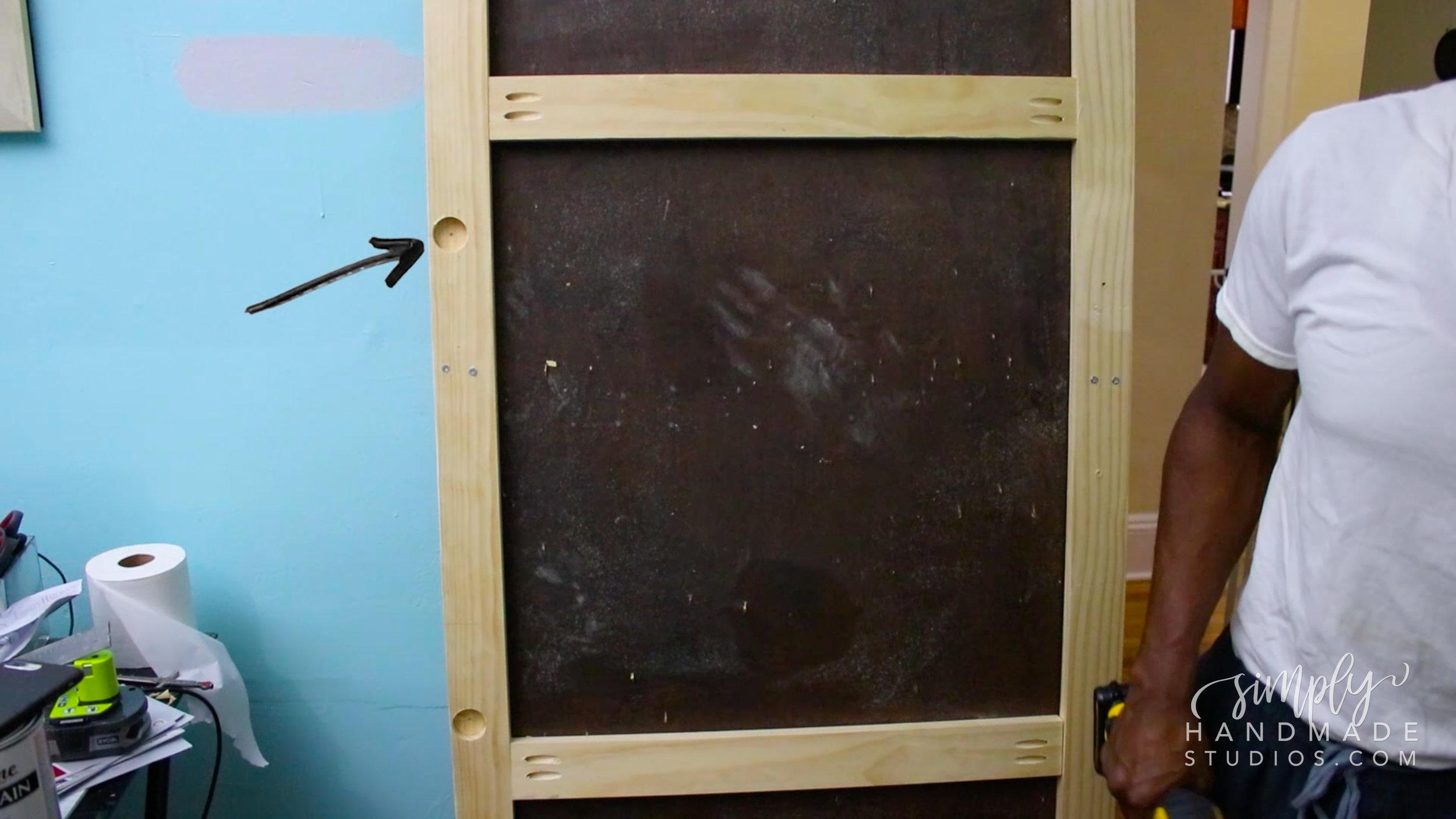 how to build a barn door - simply handmade studios