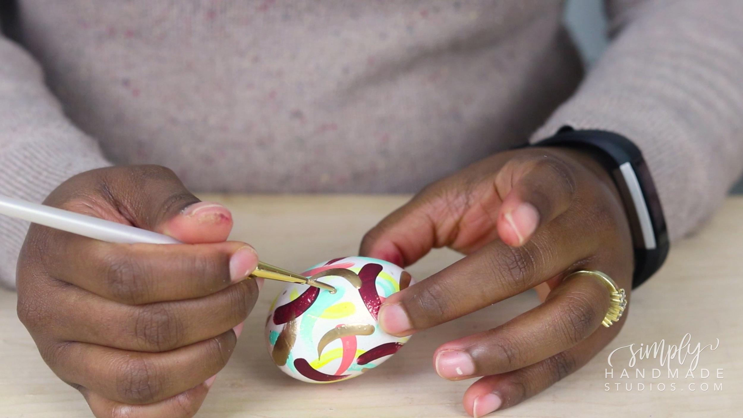 3 EASY Easter egg decorating ideas