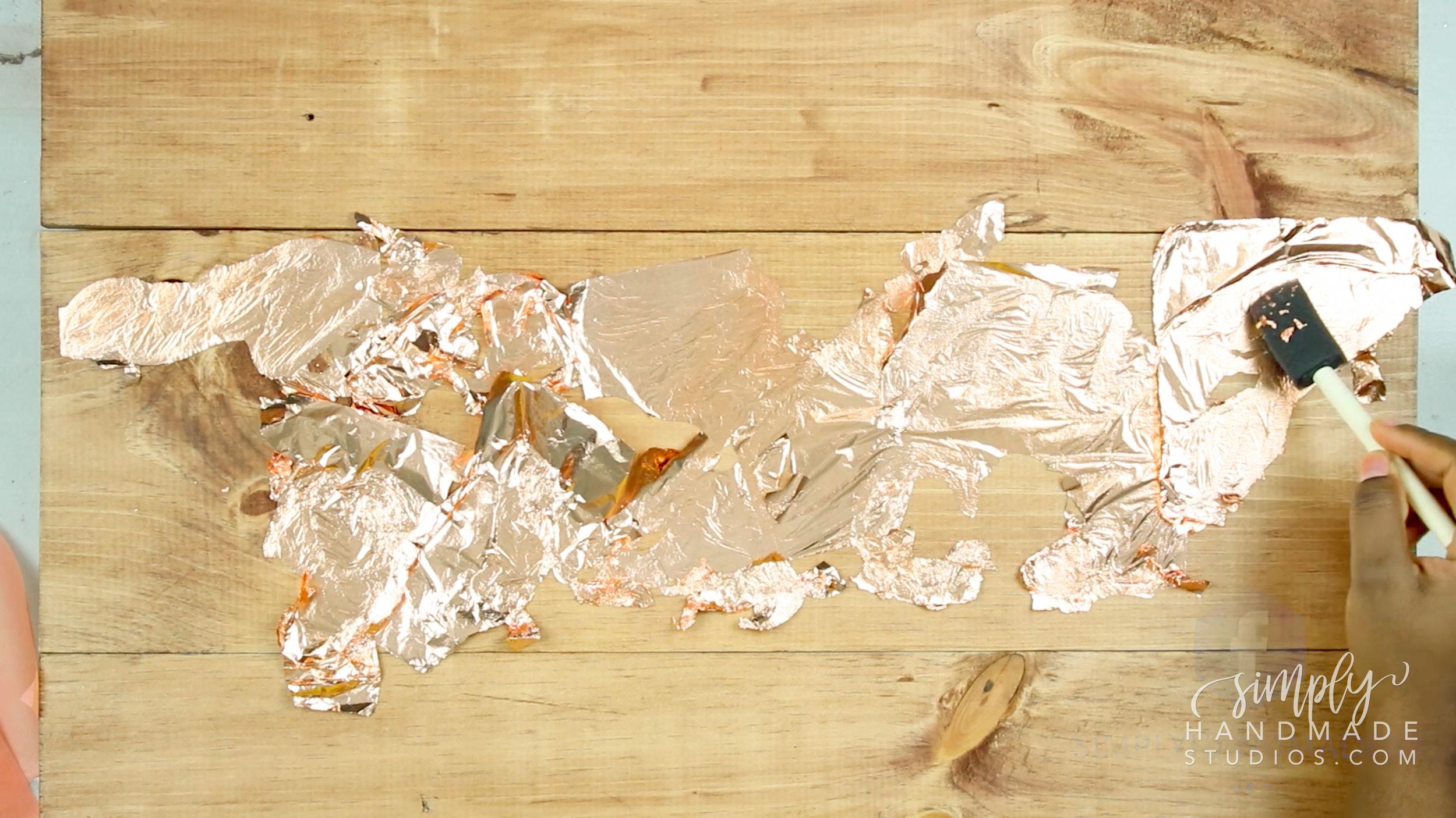 Art | Metallic Gold Contemporary Art - Simply Handmade Studios