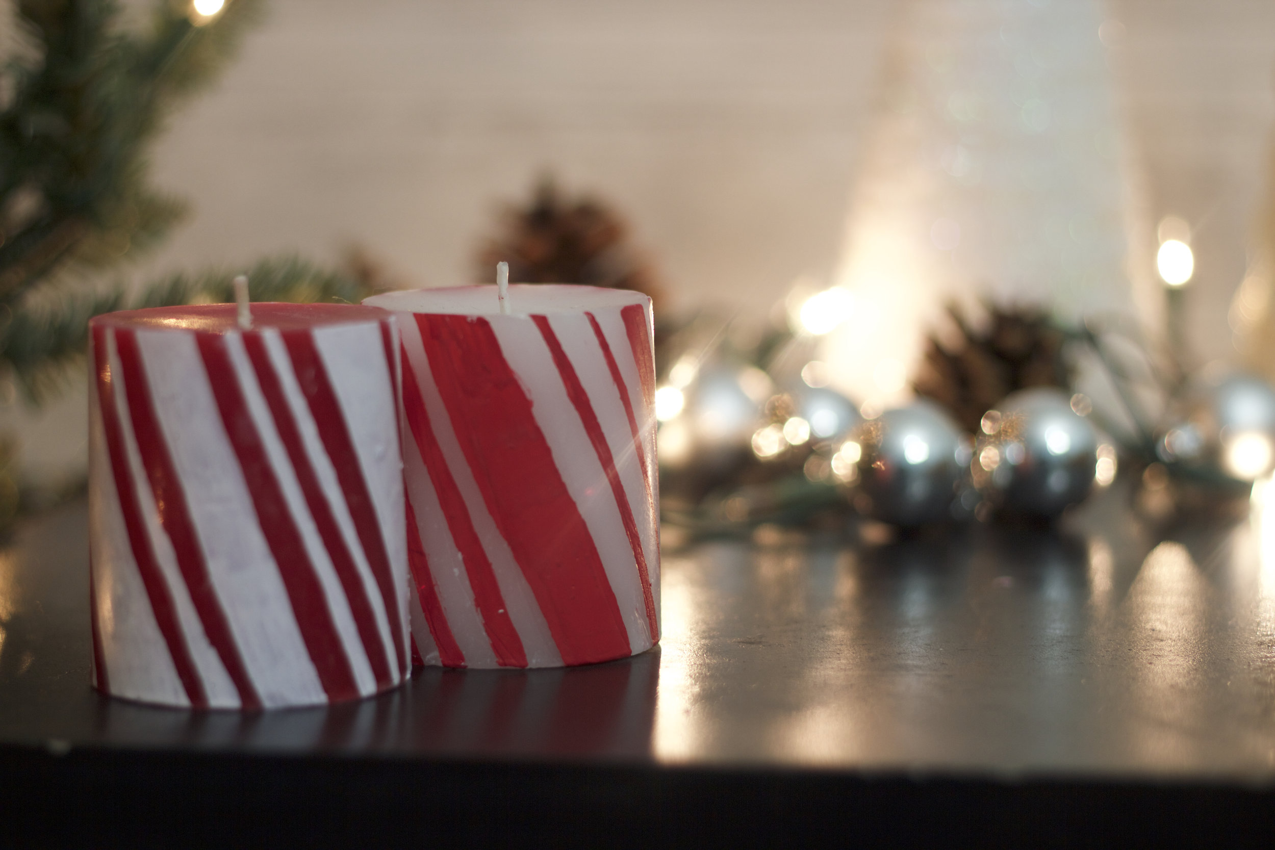 Dollar Tree DIY | EASY & QUICK Peppermint Candles (COMING SOON)