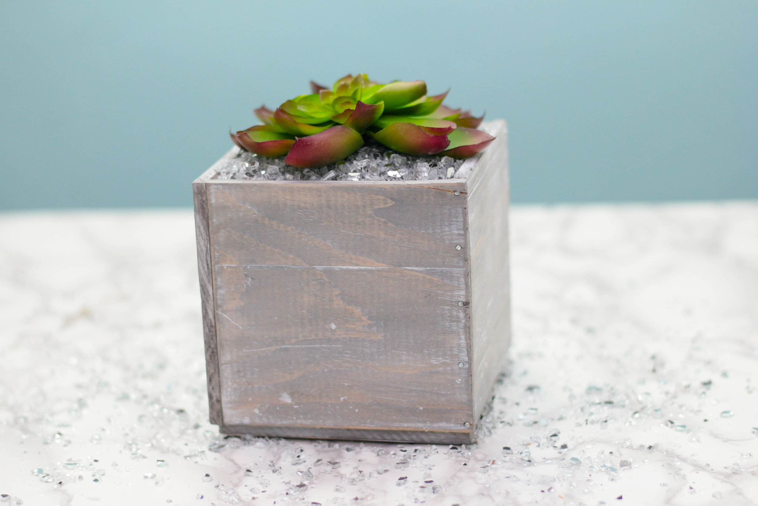 DIY Planter Ideas | Distressed Planter Box (COMING SOON)