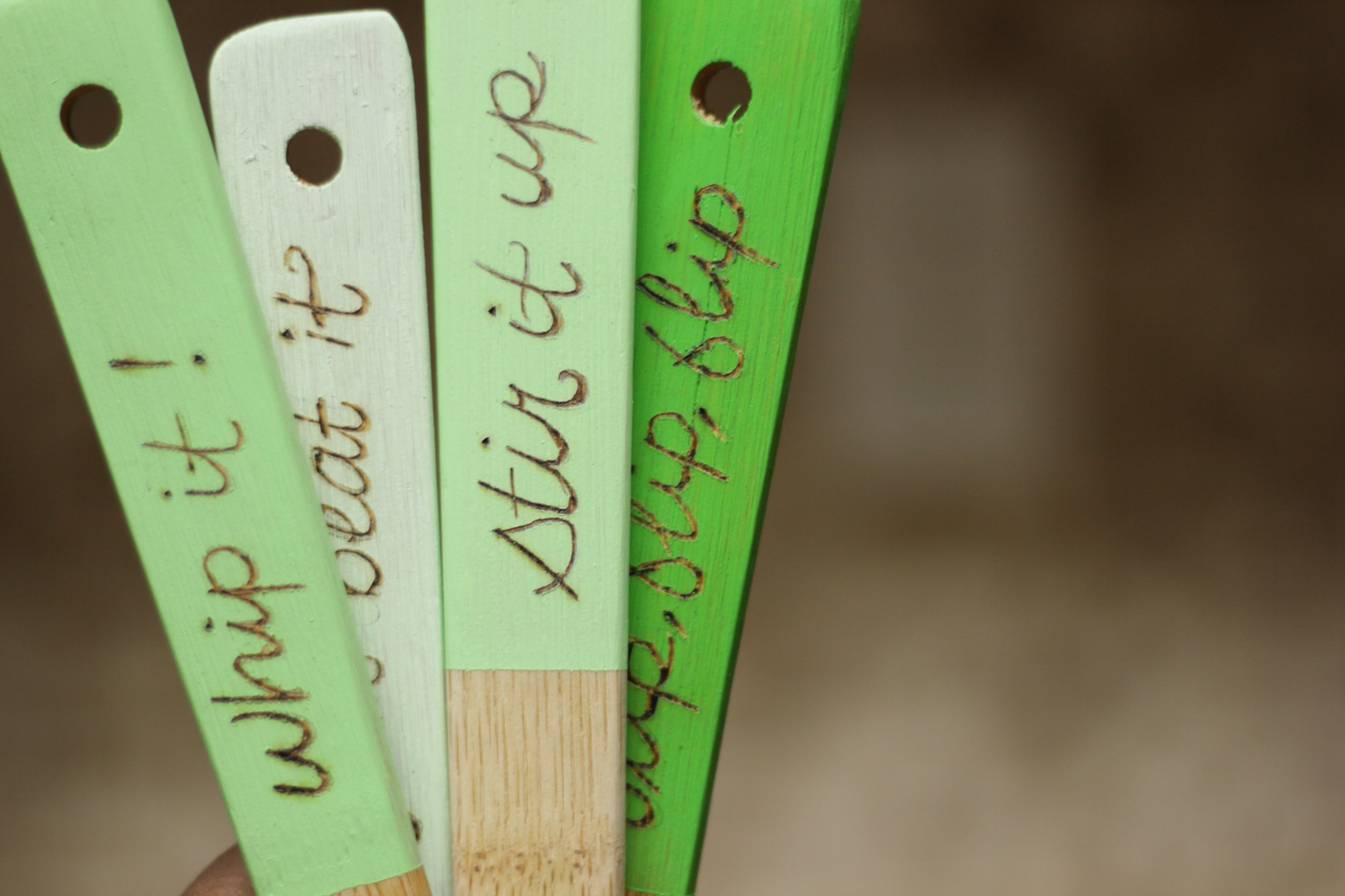 DIY Personalized Stirrers (COMING SOON)