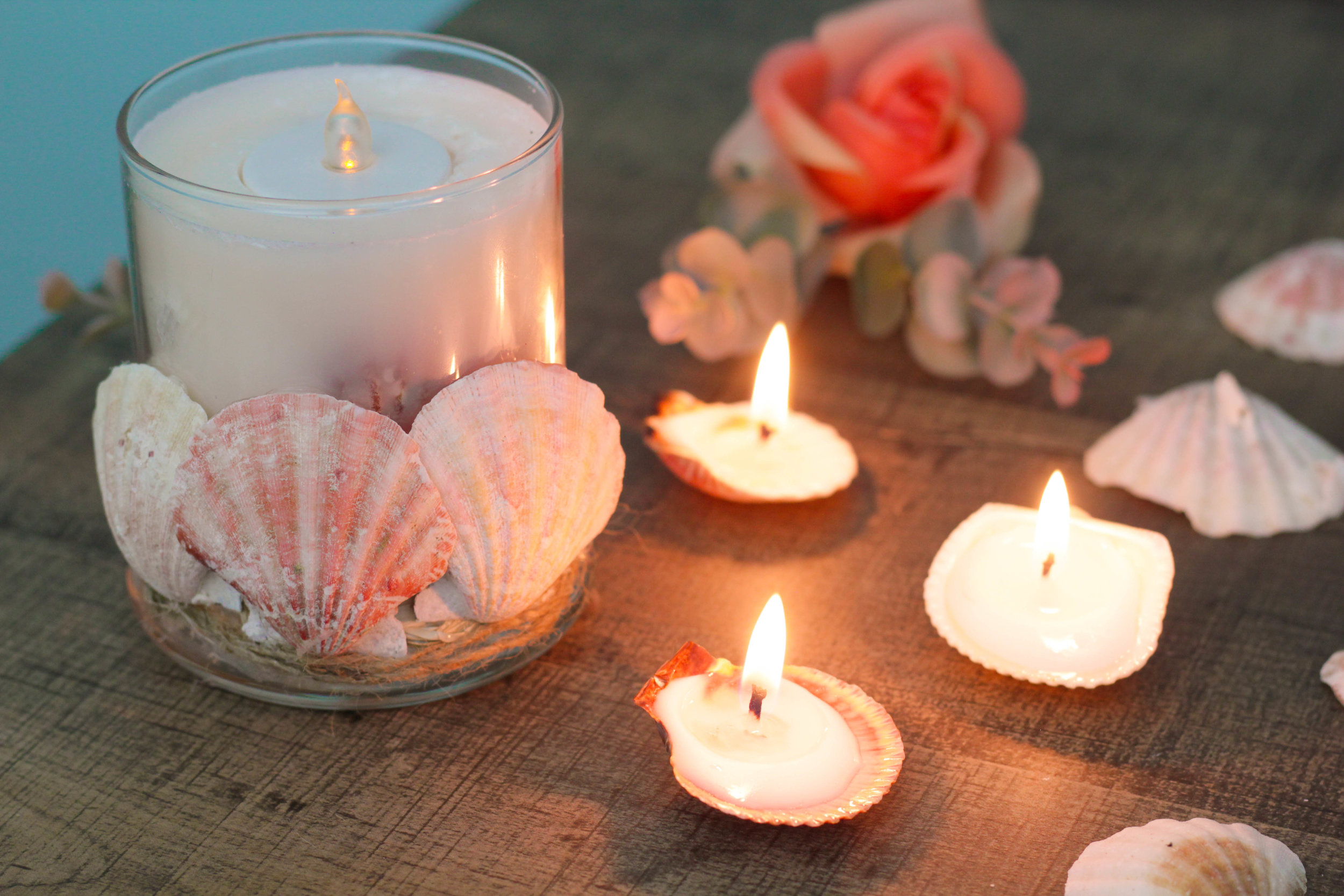 Dollar Tree DIY | Dollar Store Candle & Seashell Candle DIYs (COMING SOON)