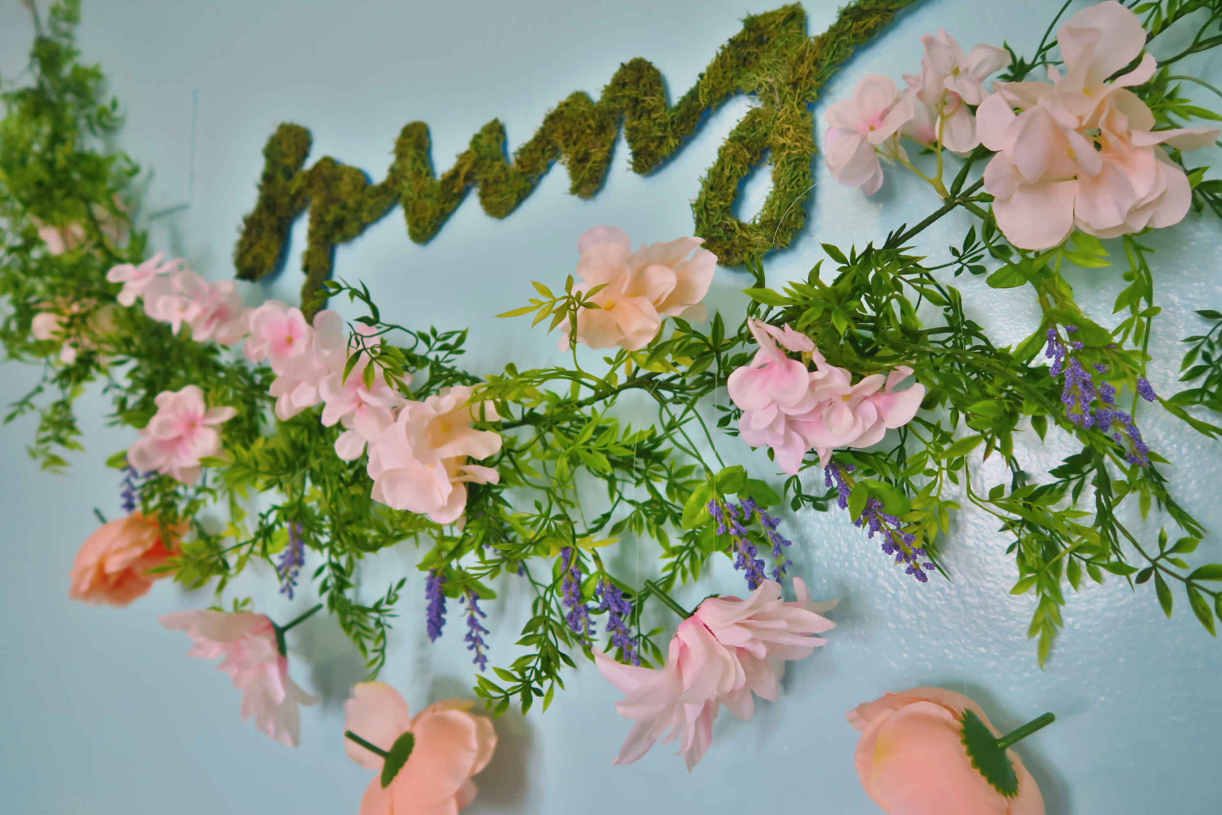 DIY Springtime Garland(COMING SOON)