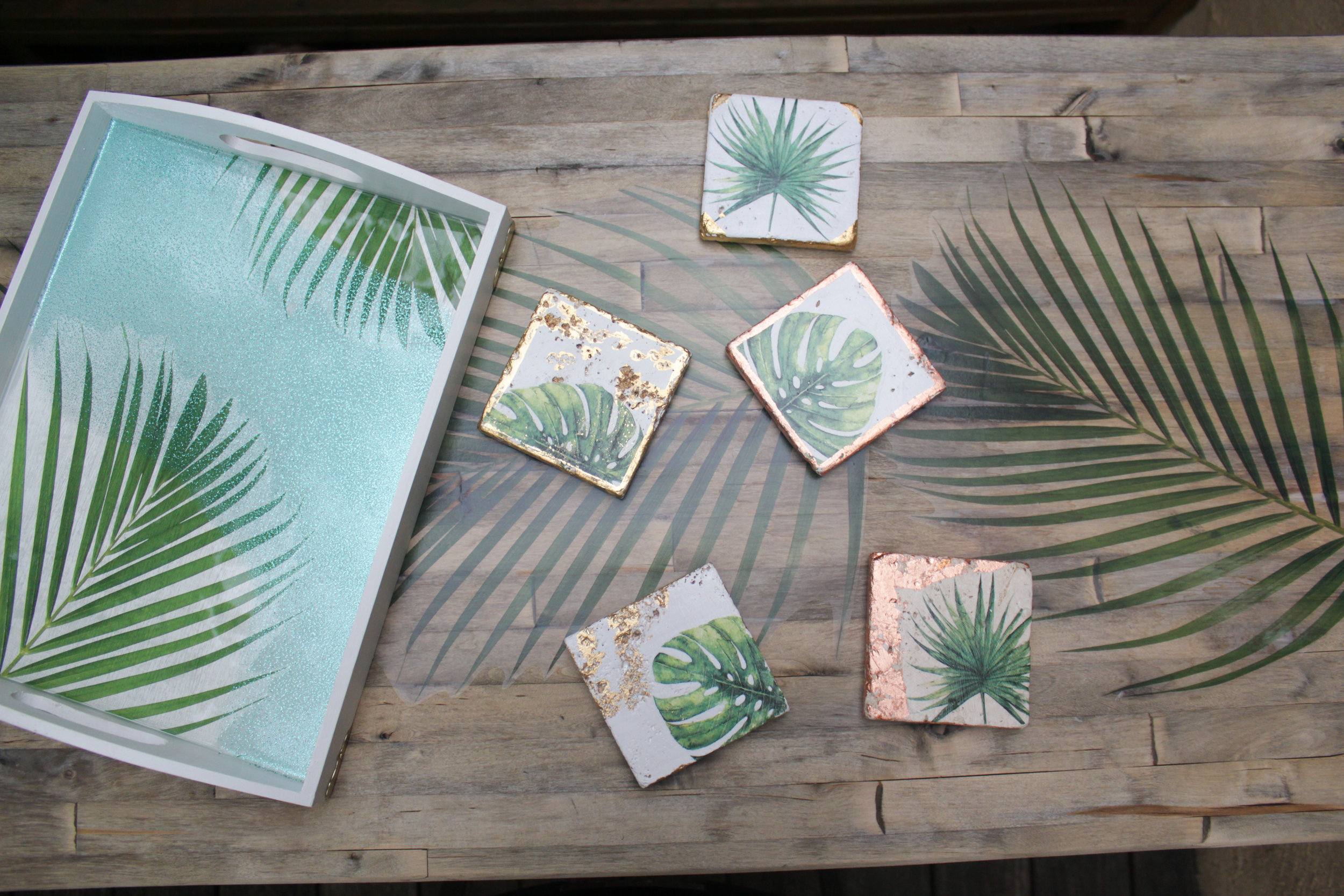 Trendy Palm Frond DIYs (COMING SOON)