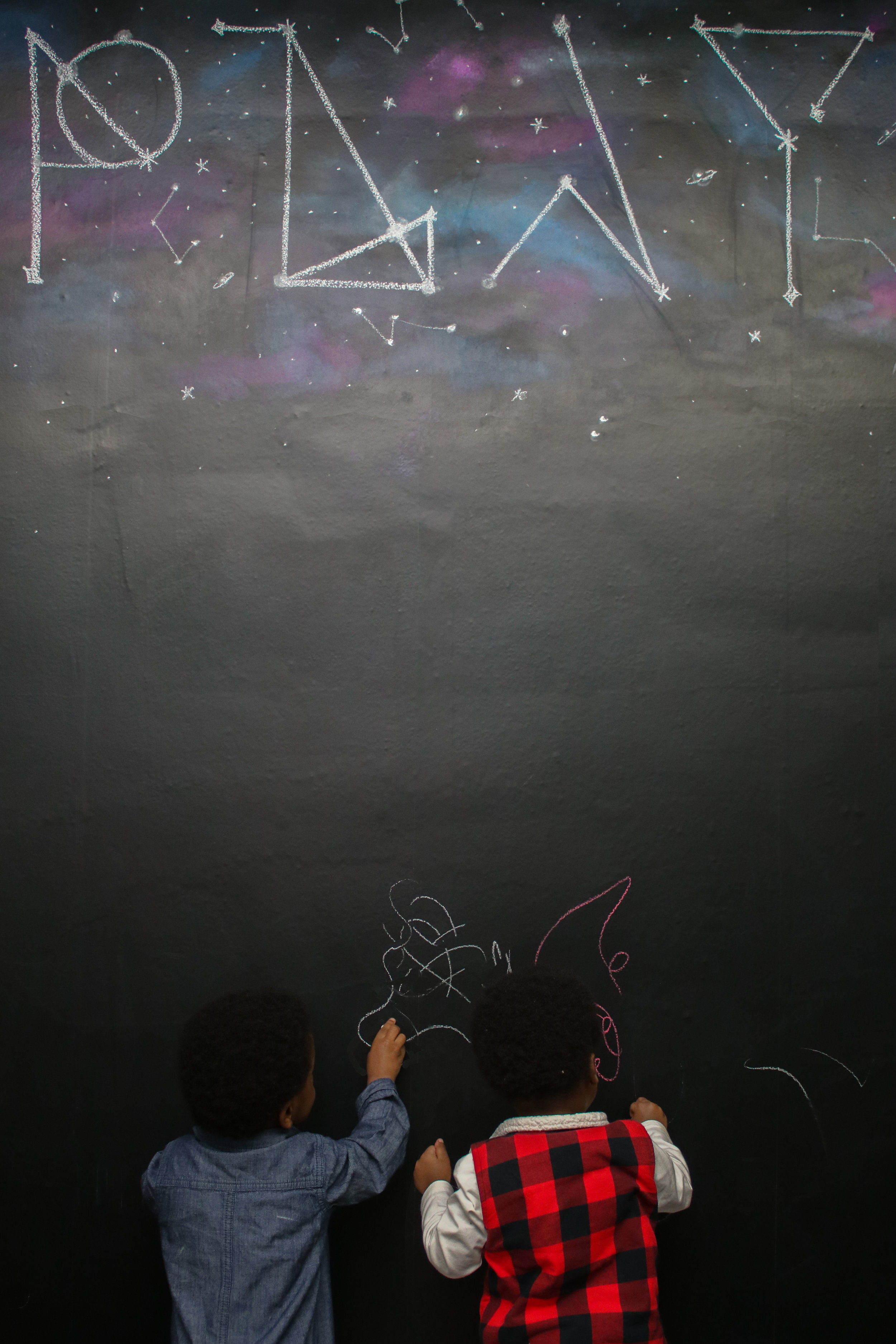 DIY Chalkboard Wall in Under 30 Minutes!