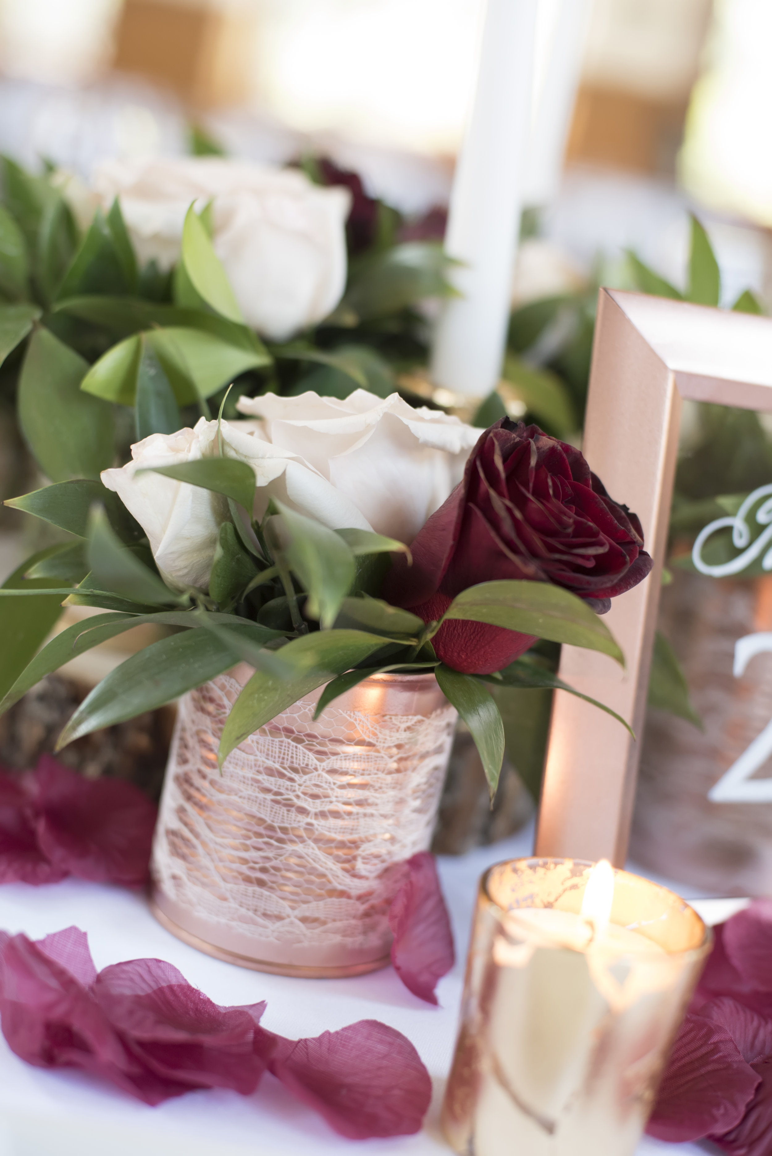 DIY Wedding Centerpiece on a Budget | Made with Tin Cans