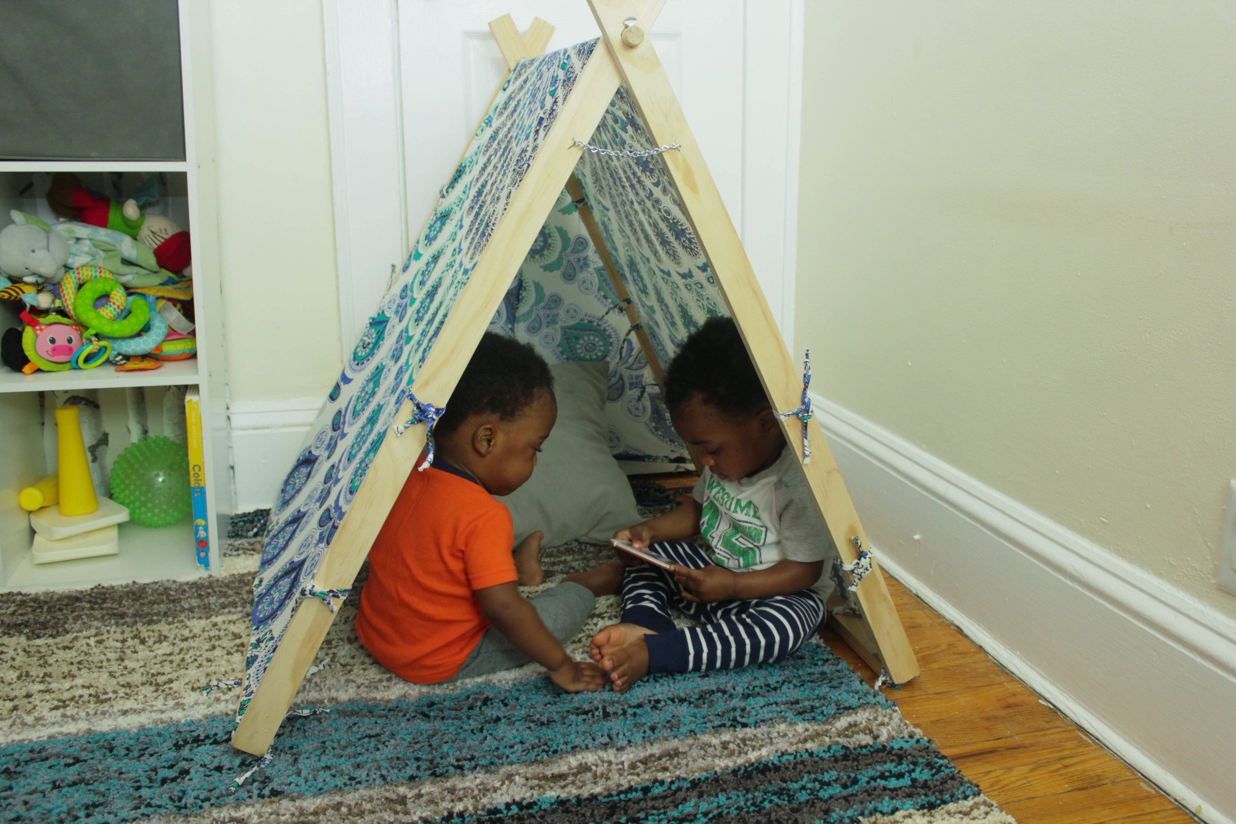 DIY TeePee Tent for Pets & Kids (COMING SOON)