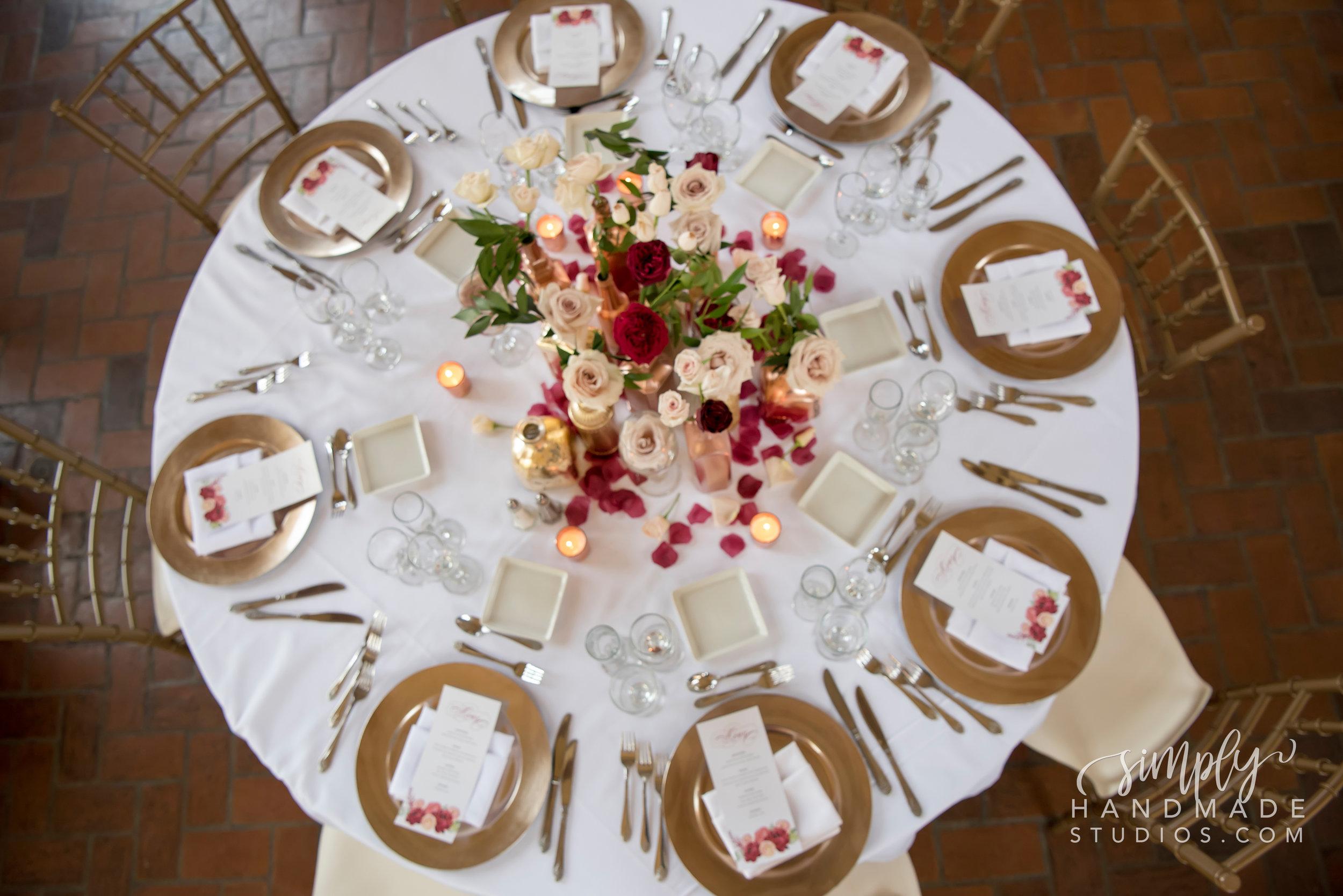 DIY Wedding Menu Template - Simply Handmade Studios