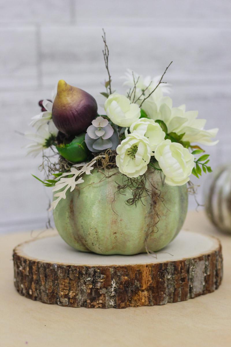 Diy Fall Decor Flower Pumpkin Simply Handmade Studios