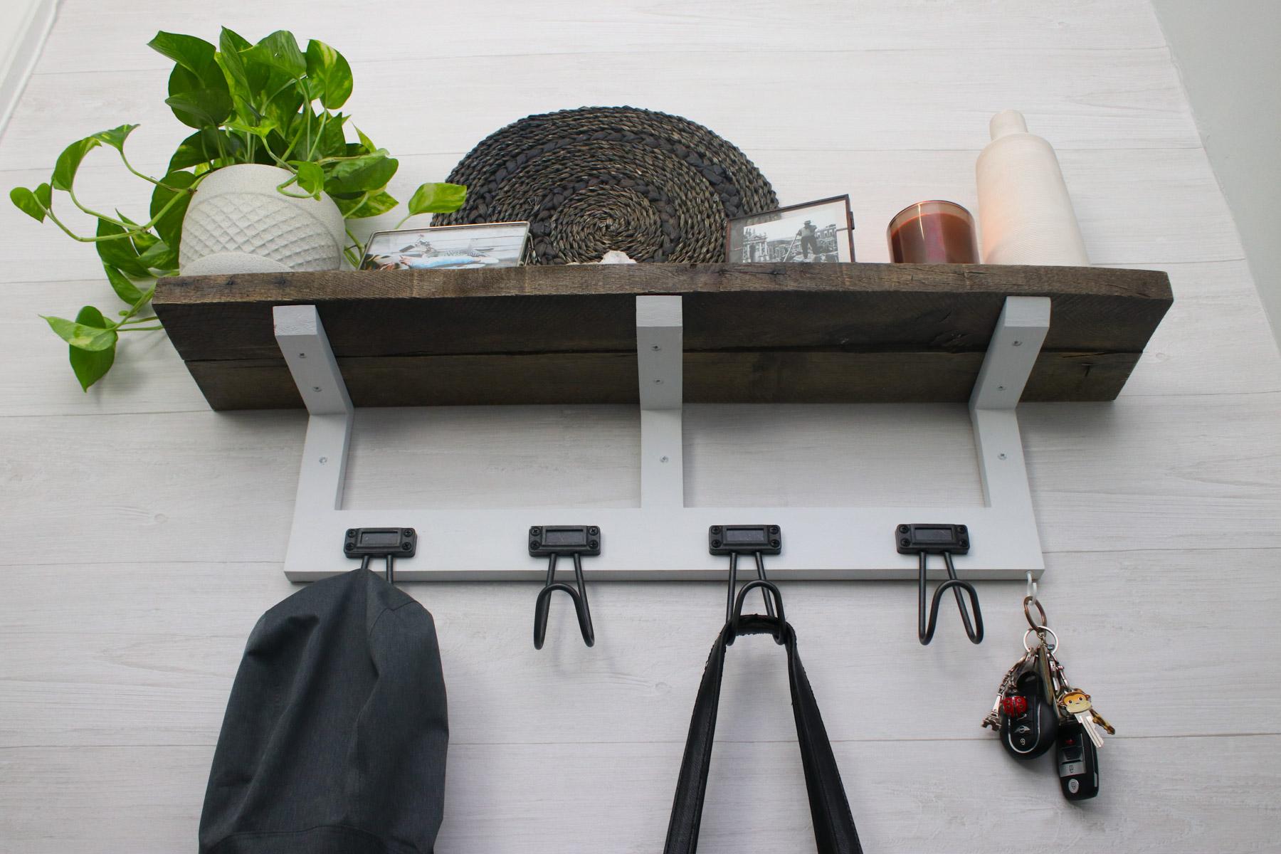 diy rustic mantel or shelf (simple pallet funiture)