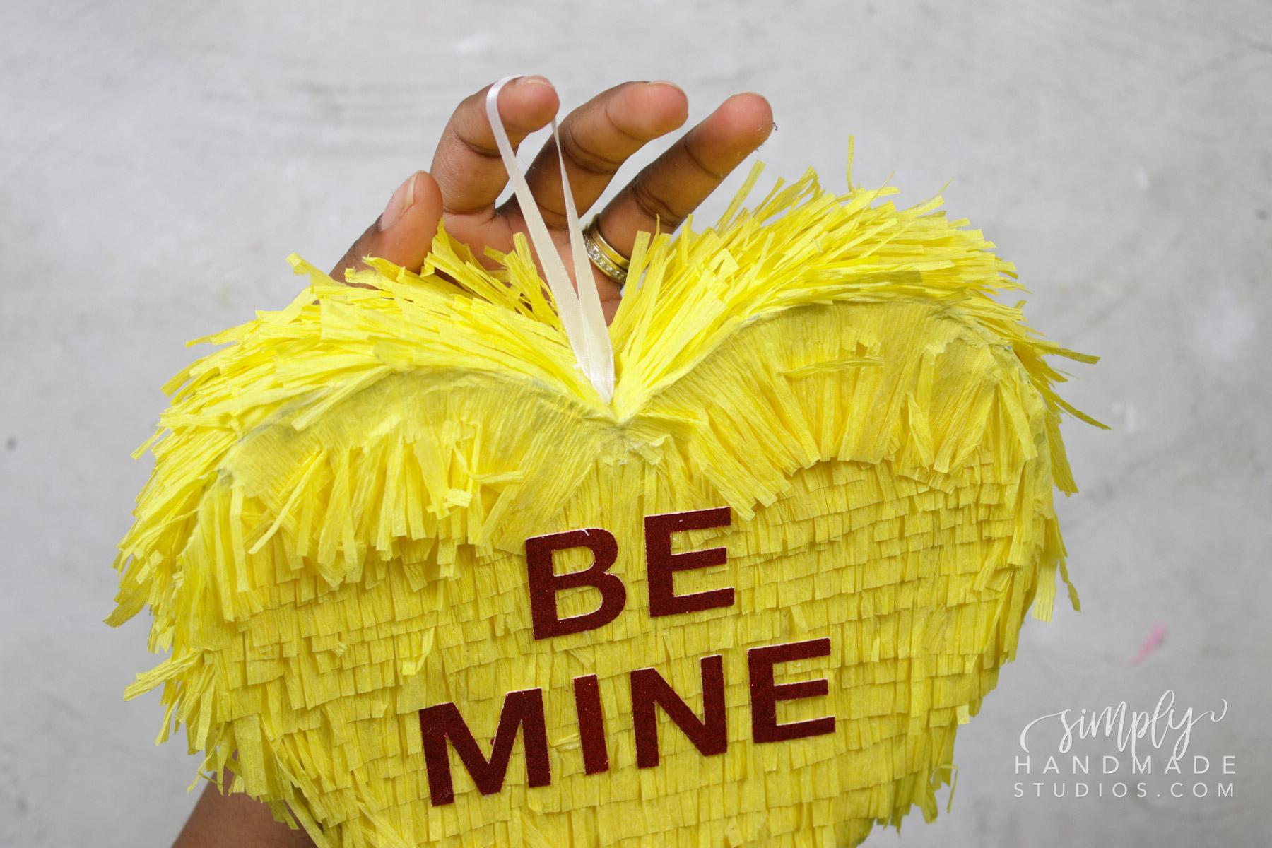 how to make a heart pinata