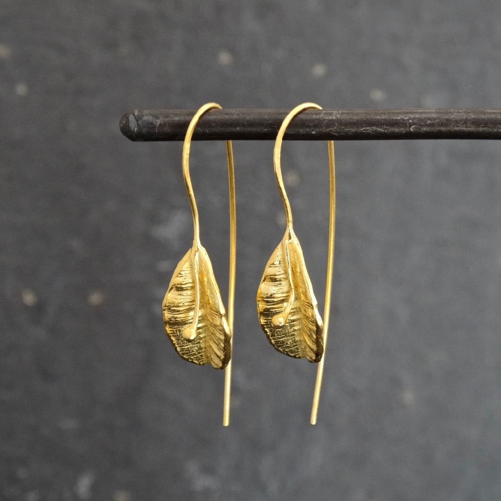7fa7829c79946 Drop Earrings - Gold Vermeil — Annie Mundy Jewellery
