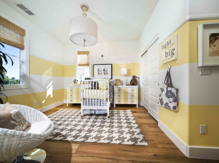 Nursery at Centered on Capitol, San Jose, Ca. by  Trumark Homes .