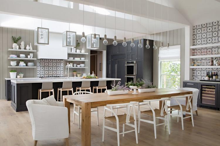 Kitchen inspiration from  Eric Olsen Design.