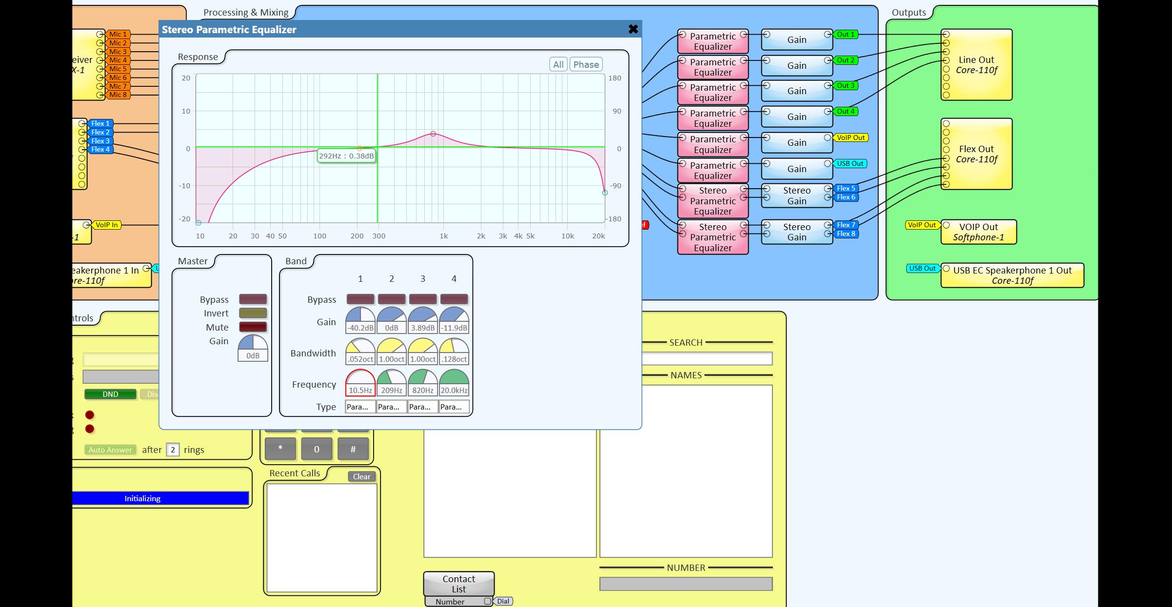 - DSP Configuration