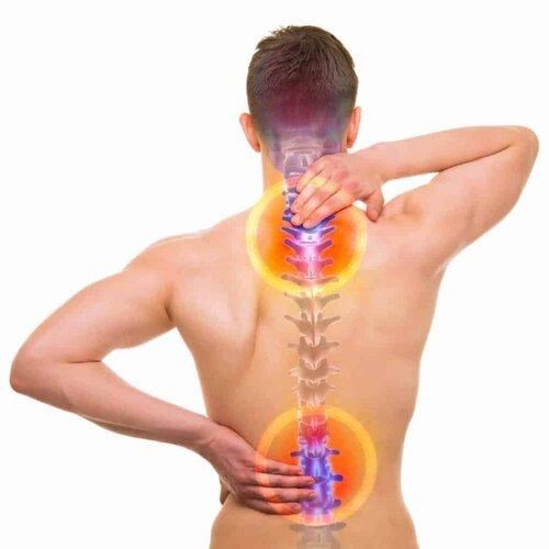 Most back pain can be reduced by regular cryotherapy