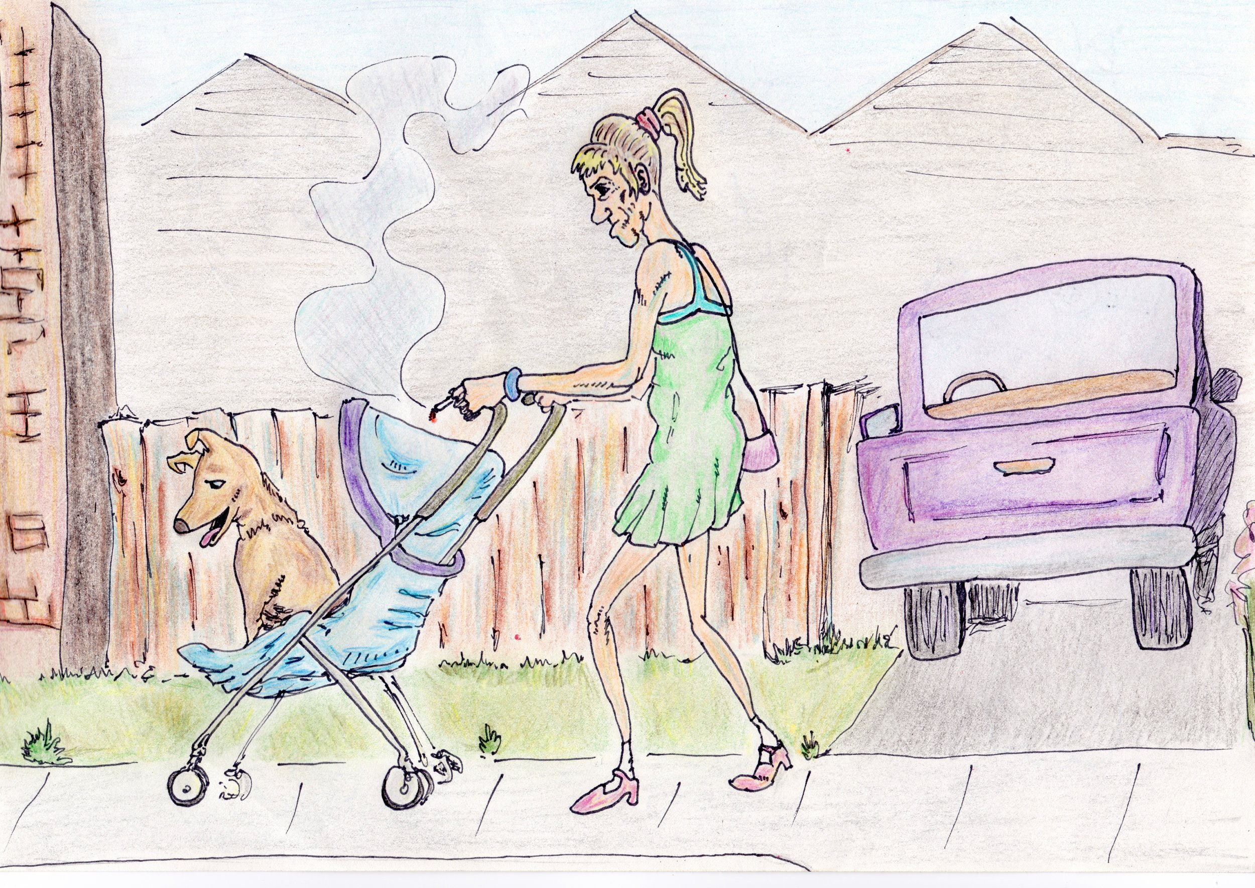 """Walking The Dog"""