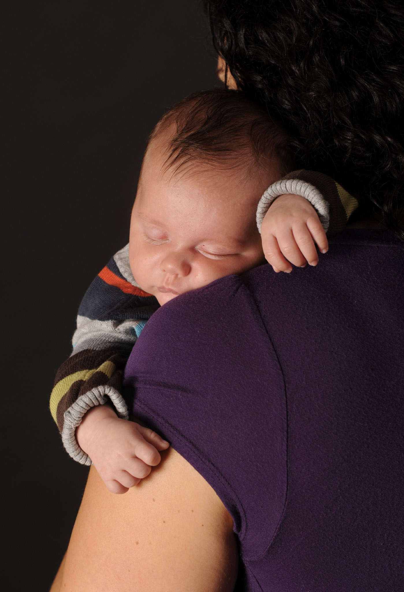 The actual image that was used on the cover of City Parent magazine, featuring Hudson and Susie.