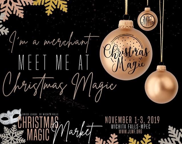 It's that time of year! Come out and see us at @jlwfchristmasmagic November 1st-3rd! We can't wait for you to see all of the new goodies we have up our sleeve!
