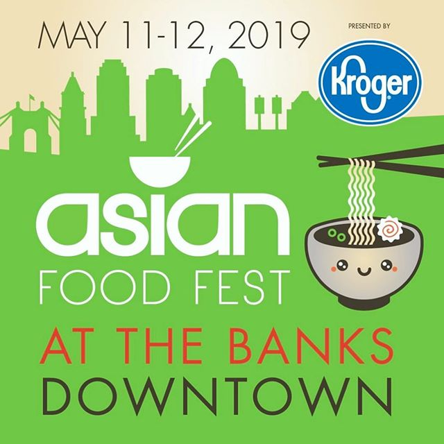 @asianfoodfest is happening this weekend at #thebankscincy. Get hungry and visit us for special off-menu treats!