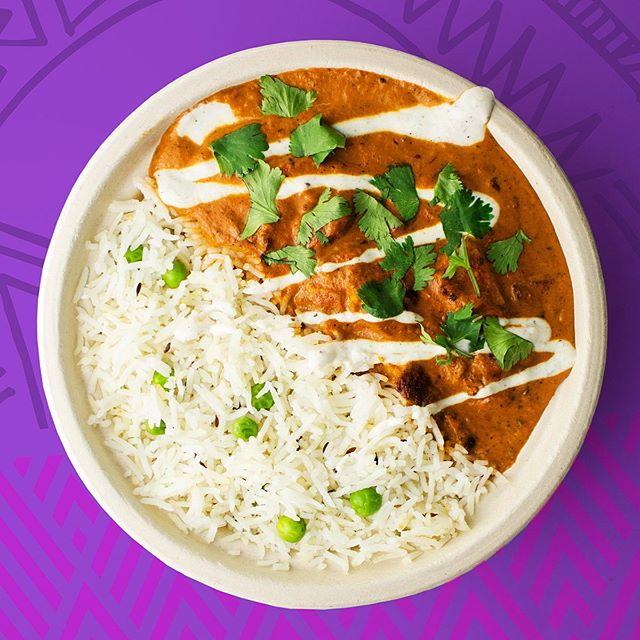 Newly reformulated chicken tikka masala bowls coming your way this weekend at @bunburyfestival. Plan accordingly, babies. #chickentikkamasala #newandimproved #foodporn