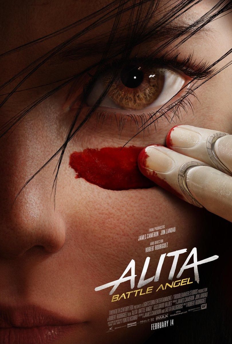 #AlitaBattleAngel