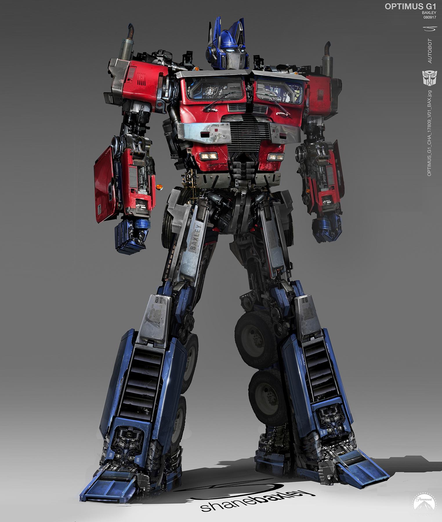 Transformers Bumblebee Movie Concept Art