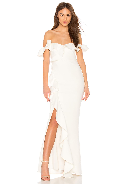 X REVOLVE MILLER BRIDESMAIDS DRESS BY JAY GODFREY, $378 AT REVOLVE.COM
