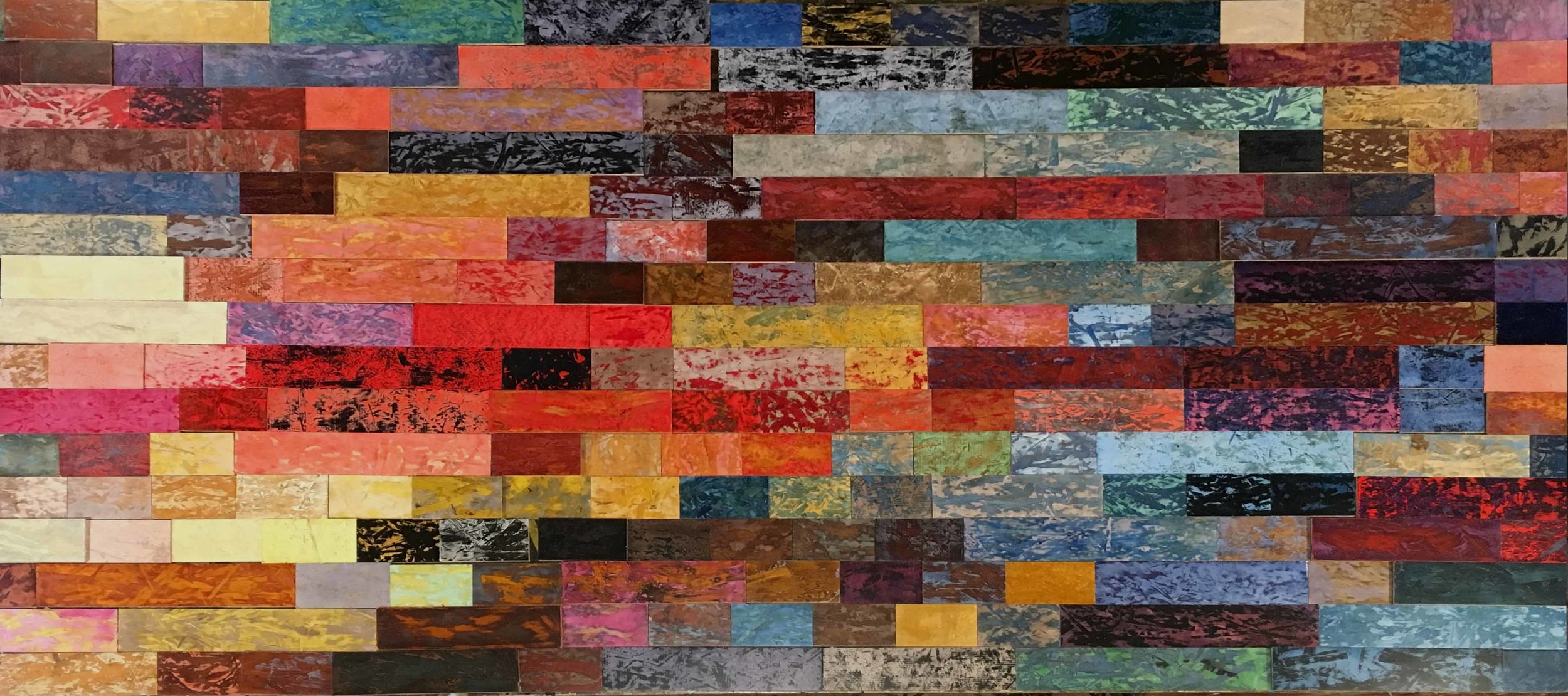 A partial sampling of the available palette.