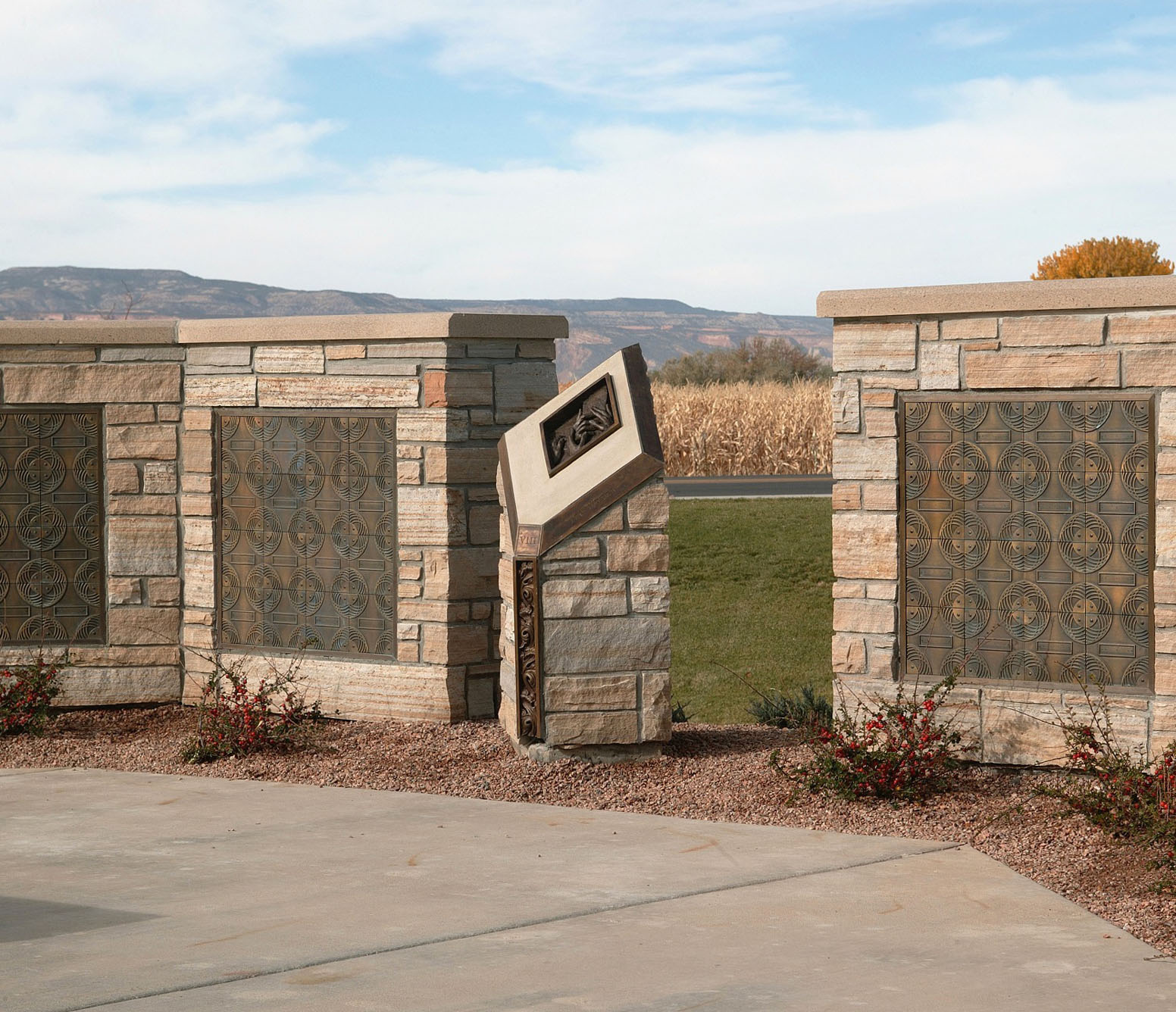Station of the Cross with Columbarium
