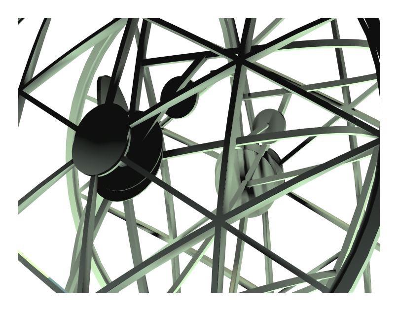 Digital Rendering of Experimental Vehicle