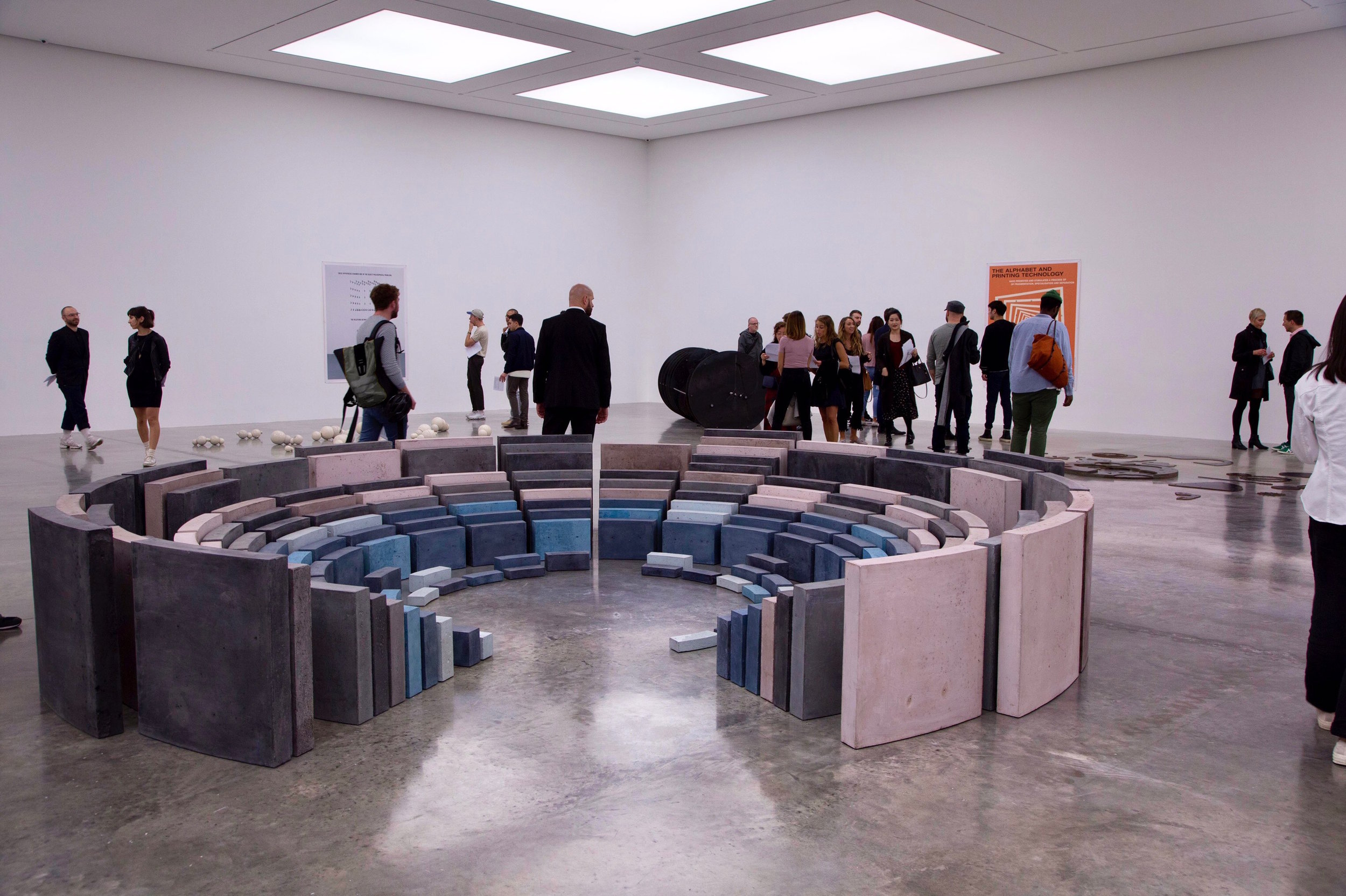 Damian Ortega's centre piece